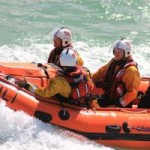 Newquay RNLI volunteers at Lifeboat Day 2013