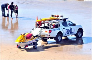 Beach safety Newquay Beaches