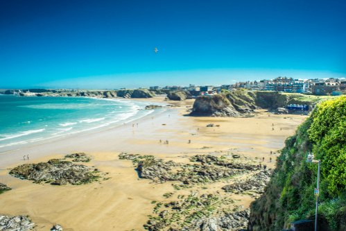 Towan Beach Newquay Visitor Information