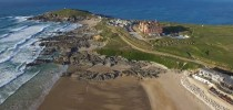 Fistral Beach Drone Flight